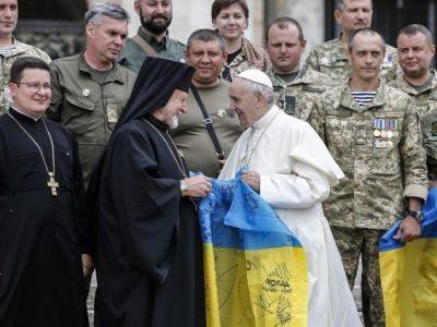 Папа: Благаю Господа, щоб загоїв рани та обдарував Україну миром