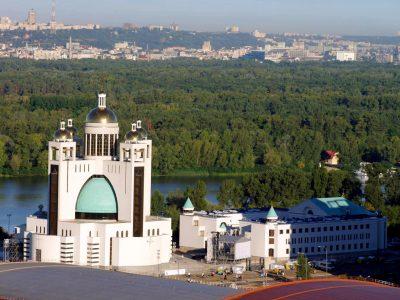Блаженніший Святослав освятив та відкрив , приміщення Патріаршого адміністративного центру УГКЦ в Києві.
