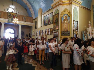 Святкова Літургія та благословення наших дітей з нагоди початку навчального року.