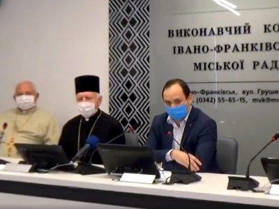 Слово о.Івана Репели під час круглого столу мера міста з духовенством  9.04.2020.