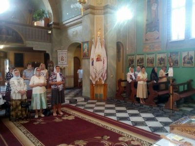 """""""Матері в молитві"""" здійснили прощу до церкви св. Йосифа-Обручника на Гірці."""